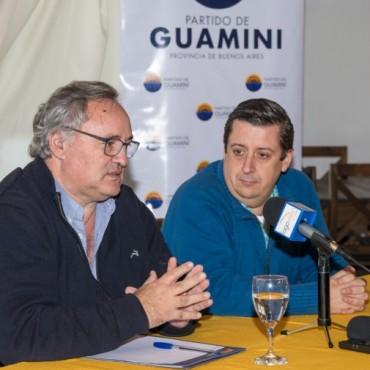 ÁLVAREZ RECIBIÓ AL MINISTRO JOAQUÍN DE LA TORRE