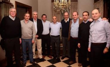 DIRIGENTES DE CAMBIEMOS DE LA SEXTA SECCION SE REUNIERON CON EL VICEGOBERNADOR