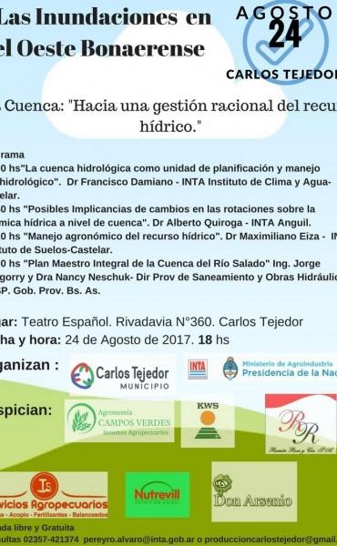 JORNADA SOBRE LAS INUNDACIONES EN EL OESTE BONAERENSE
