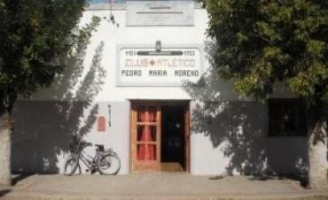 EL CLUB PEDRO MARIA MORENO FESTEJA SU ANIVERSARIO