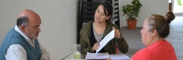 EL MINISTERIO DE DESARROLLO SOCIAL REALIZO ENTREVISTAS