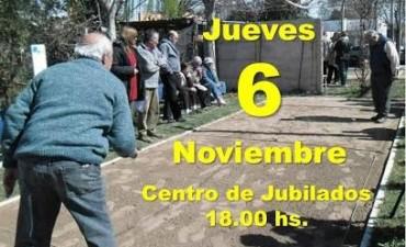 Esta tarde - TORNEO DE TEJO EN EL CENTRO DE JUBILADOS