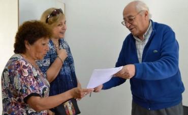 ENTREGARON SUBSIDIO AL CLUB PEDRO MARIA MORENO