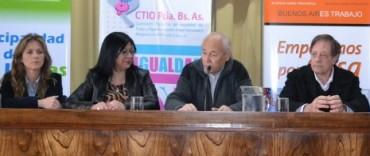 SE CONSTITUYO LA COMISION TRIPARTITA DE IGUALDAD DE TRATO Y OPORTUNIDADES
