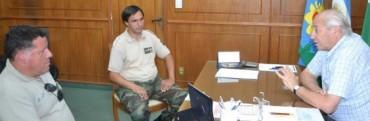 ROBERTO ALVAREZ RECIBIO AL TITULAR REGIONAL DE PATRULLAS RURALES