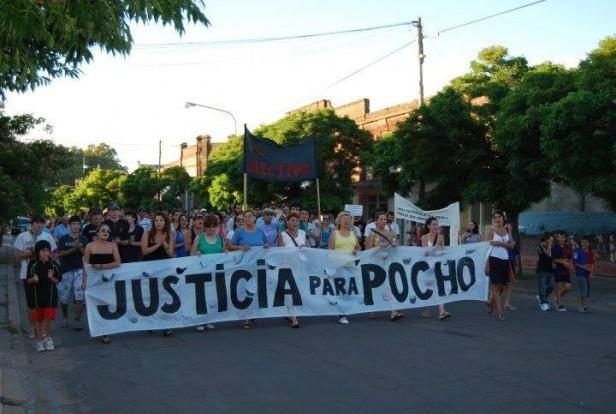 NUEVO PEDIDO DE JUSTICIA POR EL ASESINATO DE 'POCHO' FARIAS