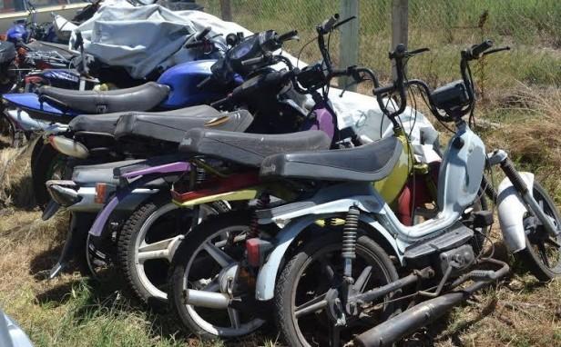 SECUESTRAN MOTOS EN OPERATIVOS DE CONTROL DE TRANSITO