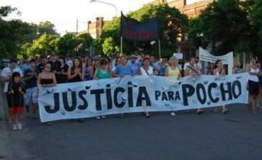 SE REALIZO LA MARCHA PARA PEDIR JUSTICIA POR LA MUERTE DE POCHO FARIAS