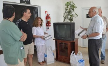 LA FAMILIA FOSSATTI HIZO UNA DONACION AL HOSPITAL