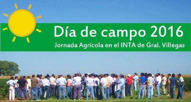 PREPARAN DIA DE CAMPO AGRICOLA EN EL INTA DE GENERAL VILLEGAS
