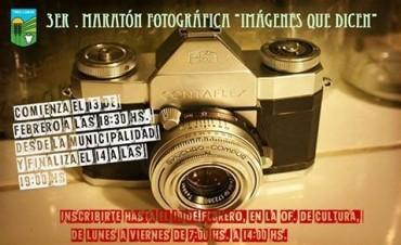 ANUNCIARON LA REALIZACION DE LA MARATON FOTOGRAFICA