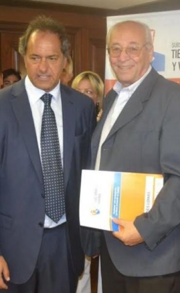 ALVAREZ RECIBIO IMPORTANTE SUBSIDIO POR LA LEY DE HABITAT
