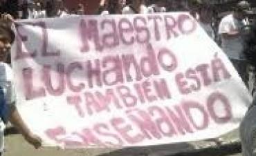 DOCENTES SE REUNEN EN EL CIRCULO DOCENTE Y EVALUARAN LA OFERTA DEL GOBIERNO