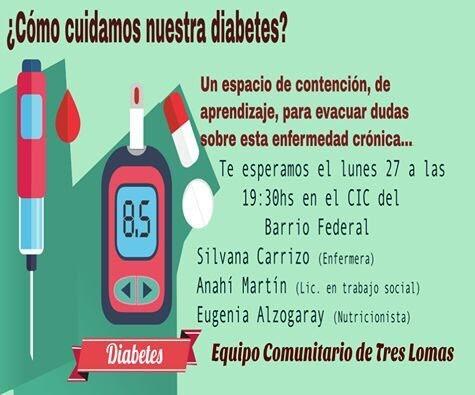 JORNADA SOBRE DIABETES EN EL CIC DEL BARRIO YANI