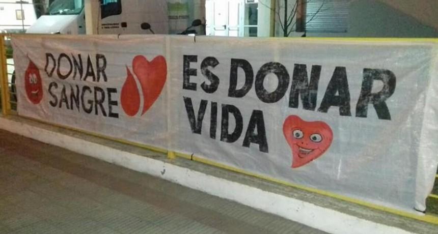 LA COLECTA DE SANGRE SERA EL VIERNES DESDE LAS 7,15 HORAS