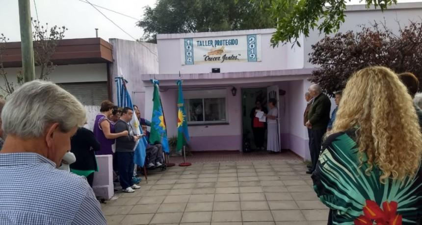 INICIAN LA CELEBRACION POR LOS 25 AÑOS DEL TALLER PROTEGIDO
