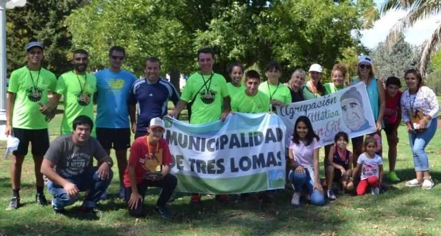 """TRES LOMAS PRESENTE EN EL COMIENZO DE LA """"MARATÓN 6 CIUDADES"""""""