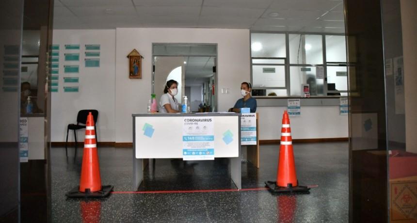 SE TRABAJA PARA EVITAR LA CIRCULACIÓN EN EL HOSPITAL