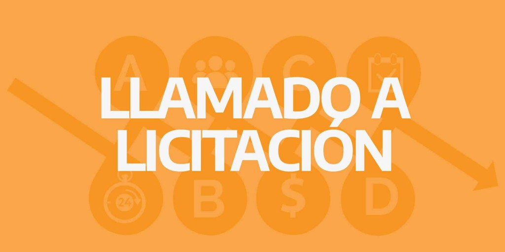 LLAMADO A LICITACIÓN PRIVADA N° 01/21