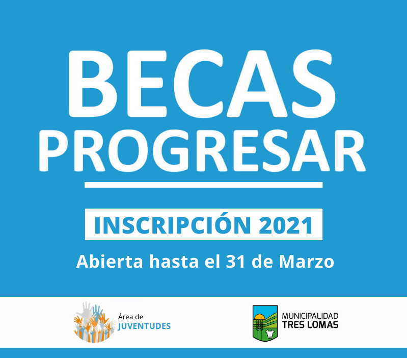 BECAS PROGRESAR: INSCRIPCIÓN 2021 ONLINE