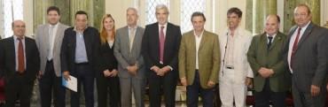 JULIAN DOMINGUEZ ANALIZO CON INTENDENTES VECINALISTAS EL FUTURO DE LA PROVINCIA