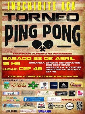 ORGANIZAN TORNEO DE PING PONG