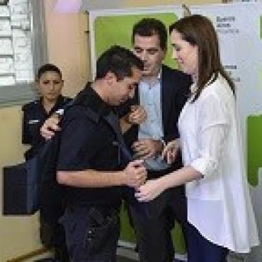 LA GOBERNADORA VIDAL ANUNCIO IMPORTANTE INVERSION EN SEGURIDAD