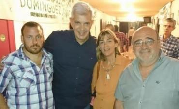 DIRIGENTES VECINALISTAS SE REUNIERON CON JULIAN DOMINGUEZ