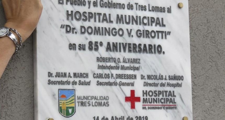 EL RADICALISMO DIJO QUE EL ACTO EN EL HOSPITAL