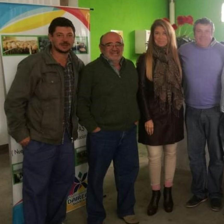 TRESLOMENSES PRESENTES EN UN ENCUENTRO DE PRODUCCION EN DAIREAUX