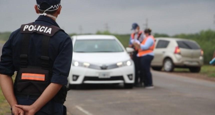 EN ESTA ZONA LA POLICIA PODRIA SEGUIR CON LOS CONTROLES EN LAS ENTRADAS DE LOS PUEBLOS