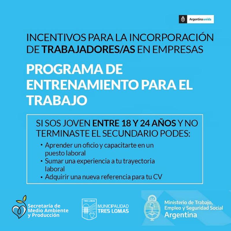 ENTRENAMIENTO PARA EL TRABAJO Y LA INSERCIÓN LABORAL