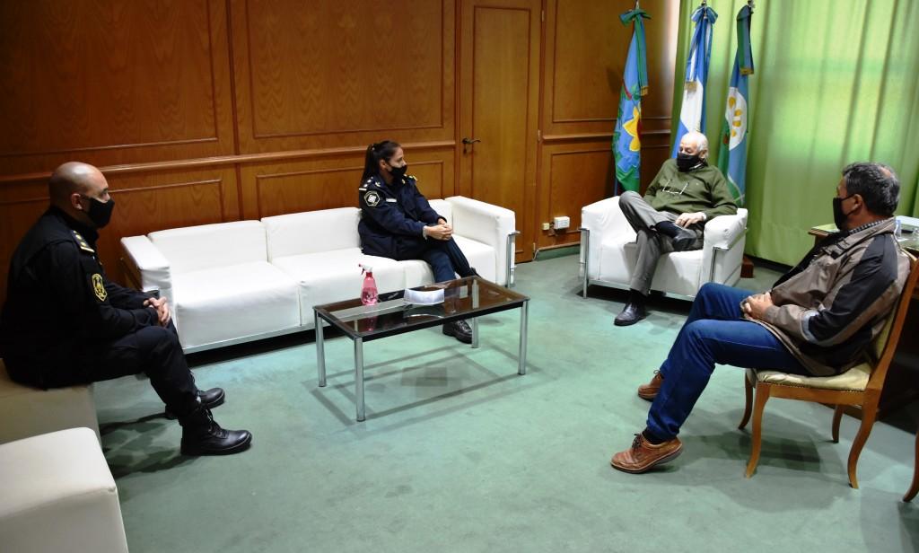 EL INTENDENTE RECIBIÓ A LA NUEVA COORDINADORA ZONAL DE POLÍTICAS DE GÉNERO