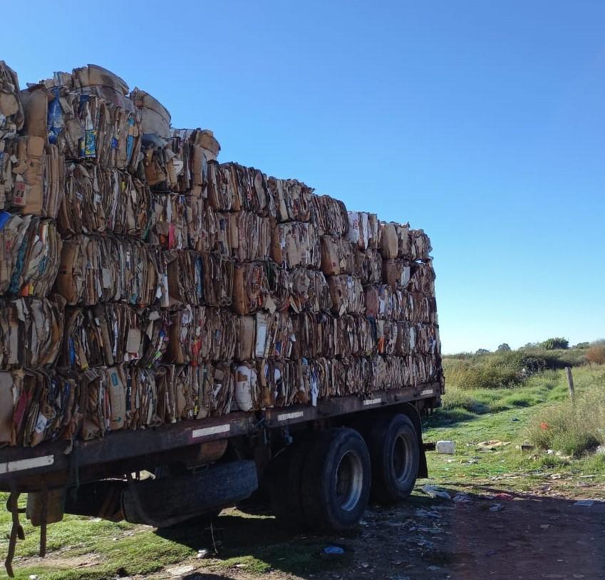 FUERON VENDIDOS MÁS DE 19 MIL KILOS DE MATERIAL RECICLADO