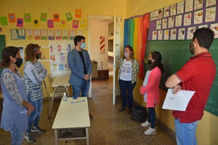 OFICIALIZAN SUSPENSIÓN DE CLASES PRESENCIALES EN BOLÍVAR, CASTELLI, VILLEGAS Y ZÁRATE