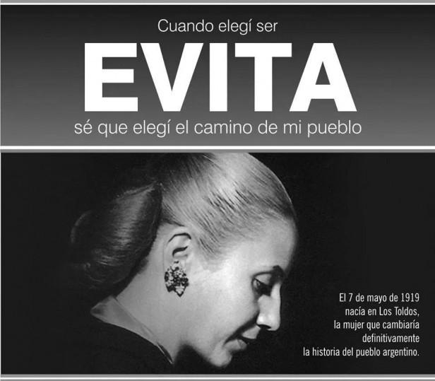 EL PJ RECUERDA EL NACIMIENTO DE 'EVITA'