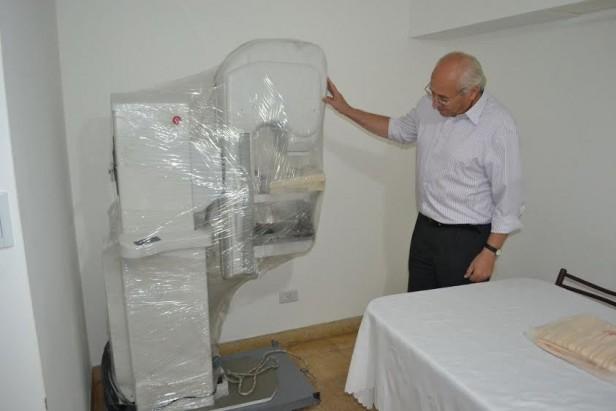 LLEGÓ EL MAMÓGRAFO PARA EL HOSPITAL MUNICIPAL