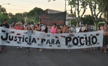 PEDIDO DE JUSTICIA POR LA MUERTE DE 'POCHO' FARIAS