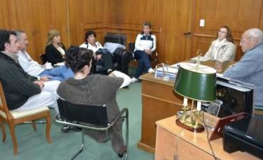 REUNION CON ARQUITECTOS DE LA UNIDAD EJECUTORA PROVINCIAL
