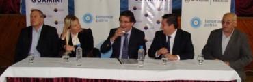NESTOR ALVAREZ RECIBIO LA VISITA DE SILEONI Y DE LUCIA