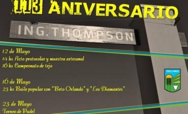 THOMPSON CUMPLE 113 AÑOS