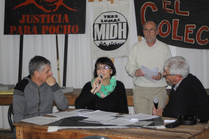 SUSANA CAVALLERO: 'QUE ESTA SEA UNA FORMA DE SEGUIR RECLAMANDO JUSTICIA POR LA MUERTE DE POCHO'