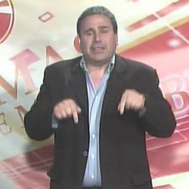 JULIO BUSTOS HABLO DE UNA 'ASOCIACION ILICITA'. LEVANTARON SU PROGRAMA DE TELEVISION