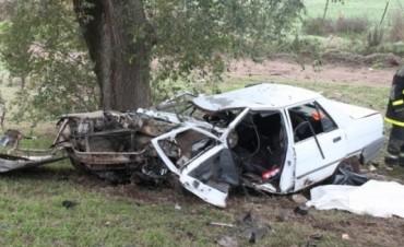 MURIO UN JOVEN EN UN ACCIDENTE EN EL ACCESO DE SALLIQUELO