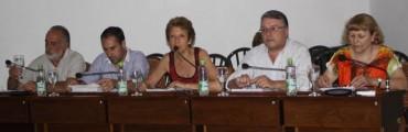 FRIGORIFICO - CONCEJALES DE CAMBIEMOS PRESENTARON AL INTENDENTE UN INFORME DE GESTIONES REALIZADAS
