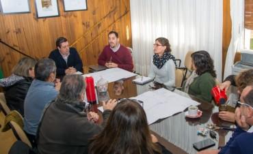 JUNTO A ÁLVAREZ EL VICEPRESIDENTE DE BAGSA ANUNCIÓ IMPORTANTES AVANCES EN EL GASODUCTO