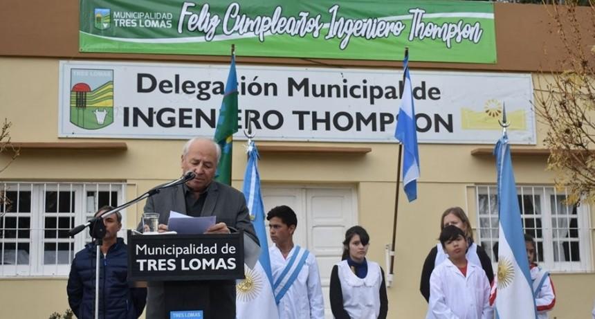 INGENIERO THOMPSON CELEBRÓ SU 117º ANIVERSARIO