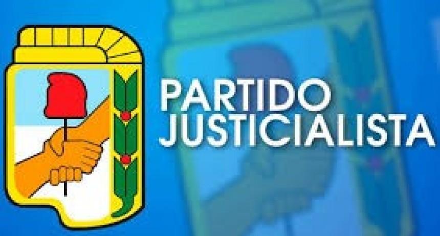 EL PARTIDO JUSTICIALISTA CONVOCO A UNA REUNION INFORMATIVA PARA HOY A LAS 20 HORAS