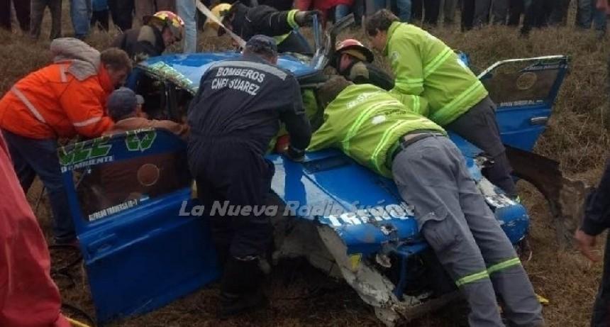 FALLECIO ALFREDO TRAVERSA, EL PILOTO ACCIDENTADO EN CORONEL SUAREZ