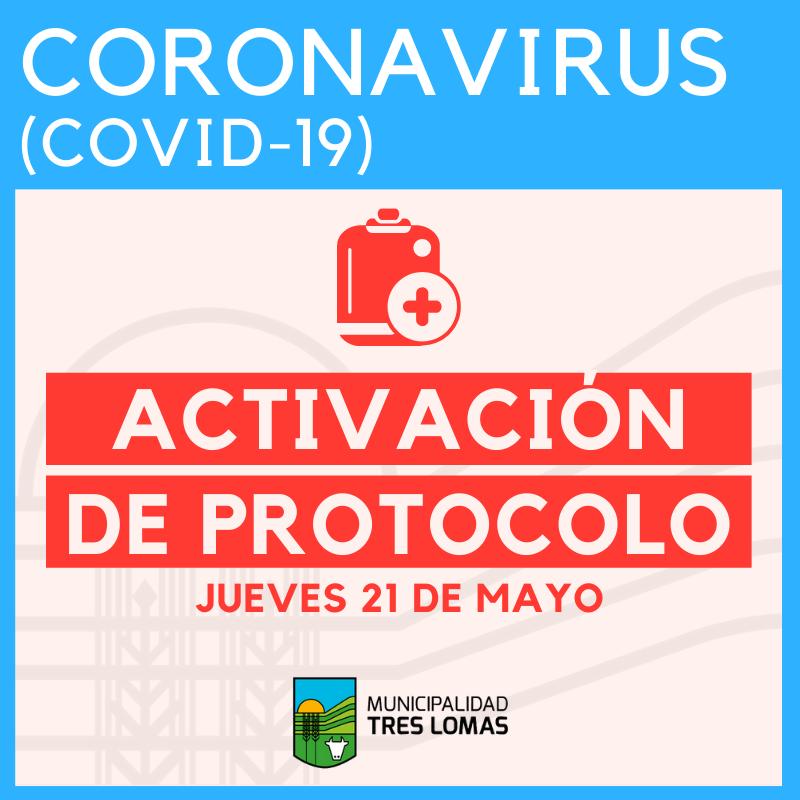 SE ACTIVÓ EL PROTOCOLO COVID19 EN TRES LOMAS